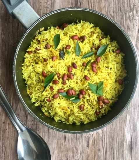 Lemon rice oppskrift.
