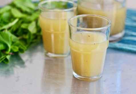 Aam panna/Krydret mango drikk oppskrift.