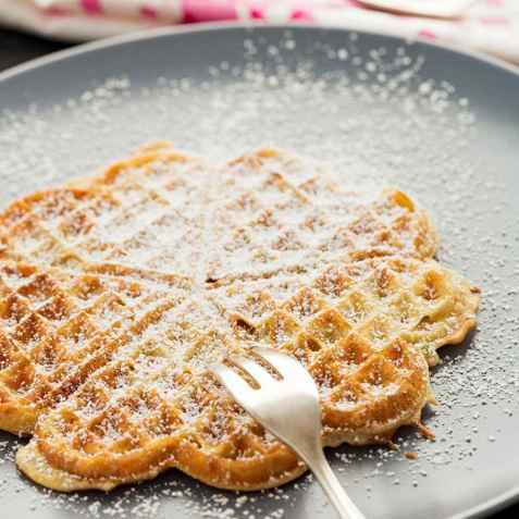 Bilde av Glutenfrie Vafler med sukrin.