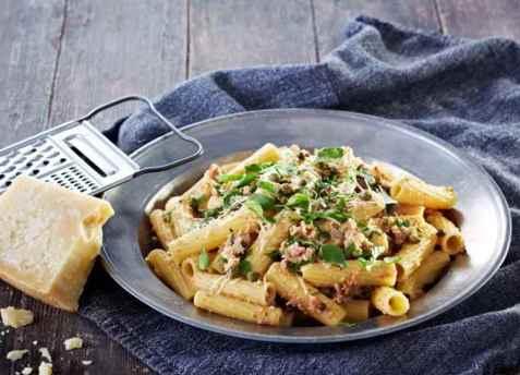 Bilde av Pulled turkey pasta.