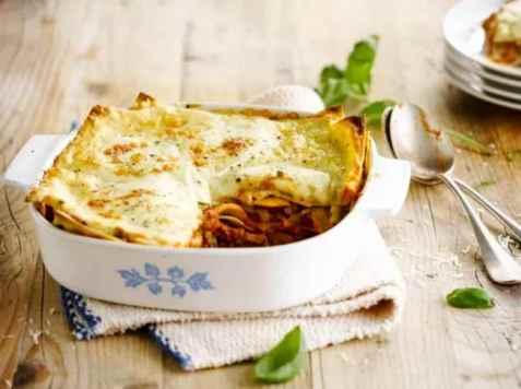 Laktosefri lasagne oppskrift.