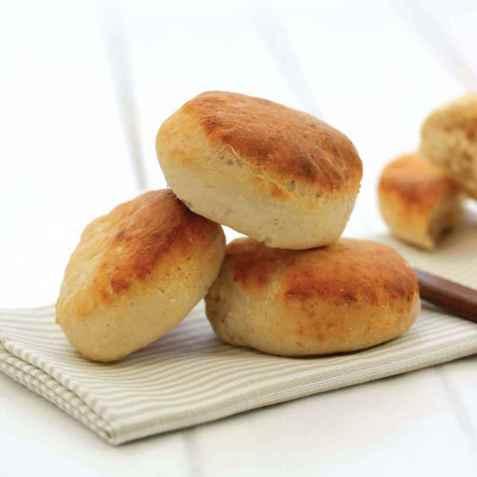 Fiberrike fine scones oppskrift.