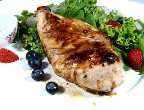 Italiensk marinert kylling på grill (enkel versjon) oppskrift.