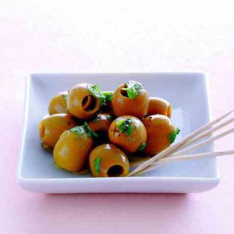 Marinerte oliven 2 oppskrift.