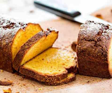 Safransukkerbrød med smak av appelsin og mandel oppskrift.