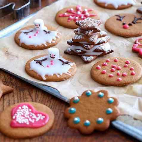Julepepperkaker oppskrift.