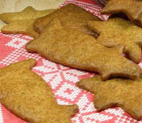 Glutenfrie pepperkaker oppskrift.