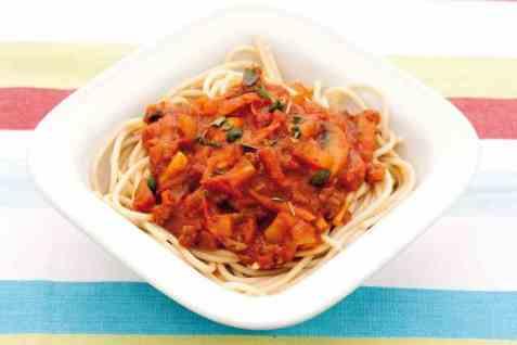 Spagetti bolognese oppskrift.