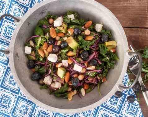 Dagens oppskrift er Supermatsalat.