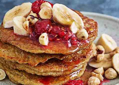 Brunch Pancakes oppskrift.