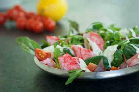 Lavkarbo lunsjsalat med LobNobs oppskrift.