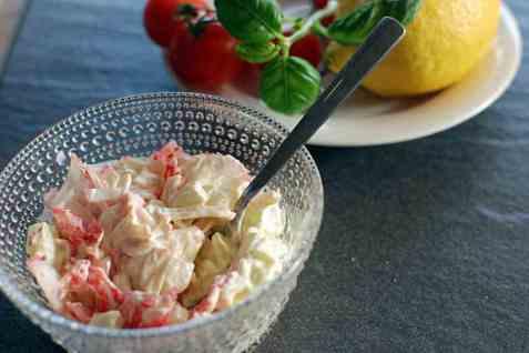 LobNobs majonessalat med stangselleri oppskrift.