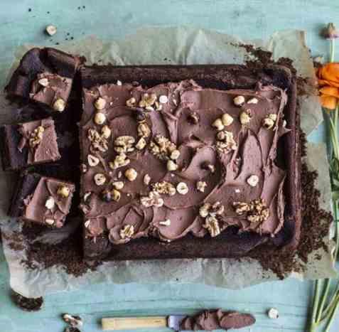 Sjokoladekake til påske oppskrift.