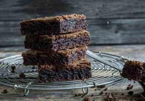 Glutenfri brownies oppskrift.