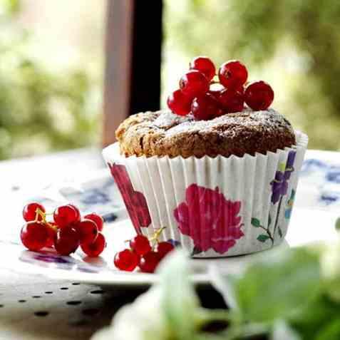 Bærmuffins enkel oppskrift.