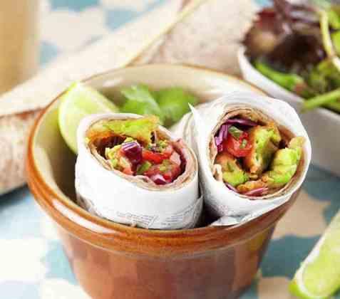 Meksikansk fisketaco oppskrift.