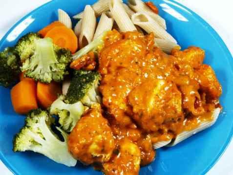 Chicken masala oppskrift.