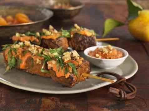 Marokkanske grillspyd oppskrift.