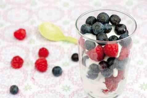 Bær med vaniljekesam oppskrift.