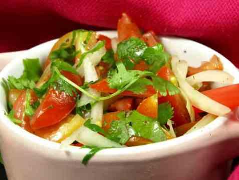 Vår gode salsa fresca oppskrift.