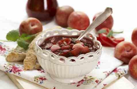 Plommechutney fra frukt no oppskrift.