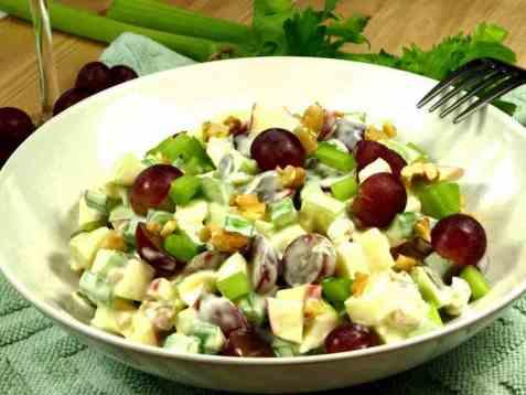 Vår beste waldorfsalat oppskrift.
