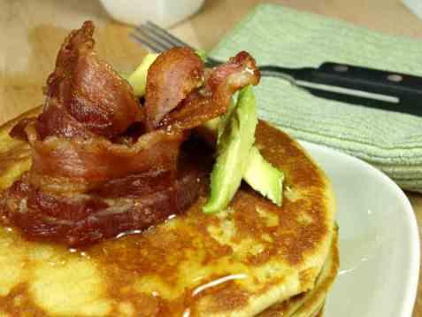 Sveler med bacon, avocado og honning oppskrift.