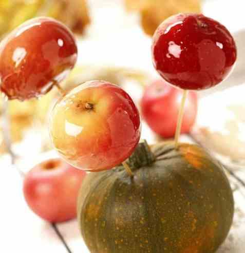 Glaserte epler oppskrift.