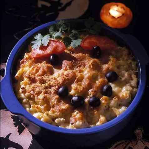 Macaroni and cheese (Makaroni og ost) oppskrift.