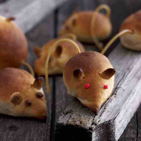Rotter til halloween oppskrift.