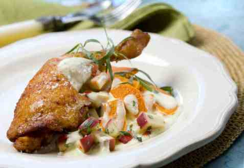Kyllinglår med søtpotet oppskrift.