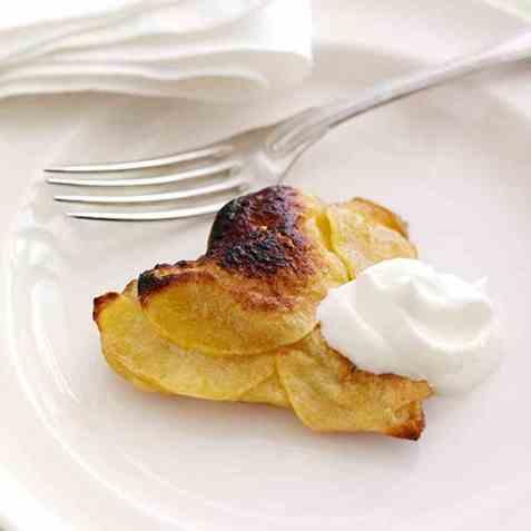 Butterdeighjerter med eple oppskrift.