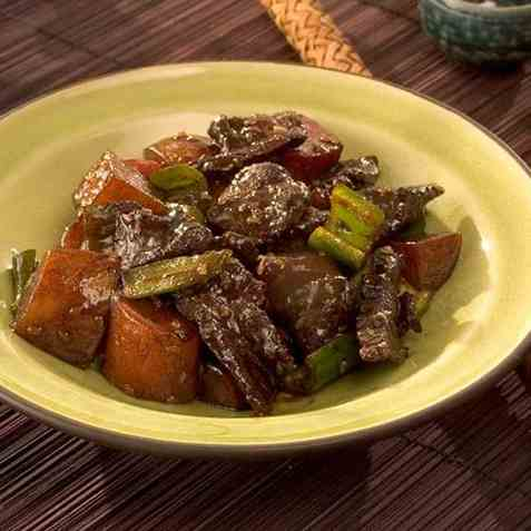 Kamja Chorim, saltede poteter oppskrift.