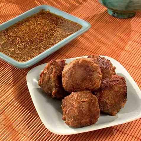 Sogoki-chun med Chojang, kjøttboller med ingefærsaus oppskrift.
