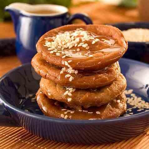 Yakkwa, små kaker oppskrift.
