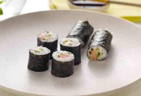 Hosomaki sushi med matjessild oppskrift.