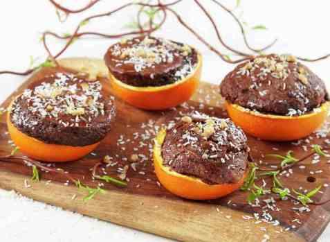 Sjokoladekake i appelsiner ny oppskrift.