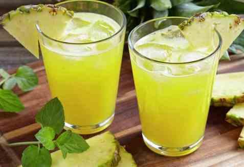 Ananasjuice oppskrift.