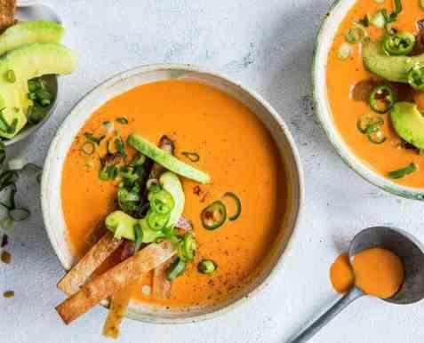 Spicy suppe med kalkun oppskrift.