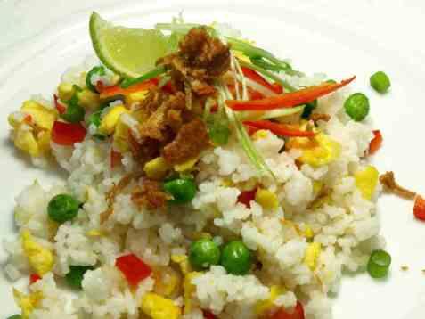 Khao pad thai oppskrift.
