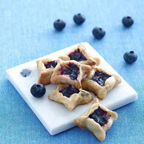 Blueberry Pie-biter oppskrift.