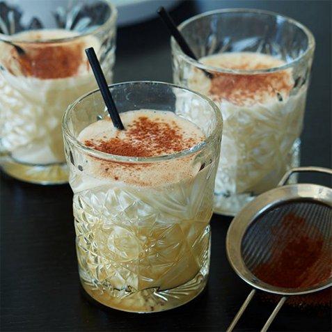 Tradisjonell eggetoddy oppskrift.