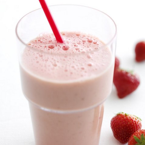 Bowling-smoothie oppskrift.