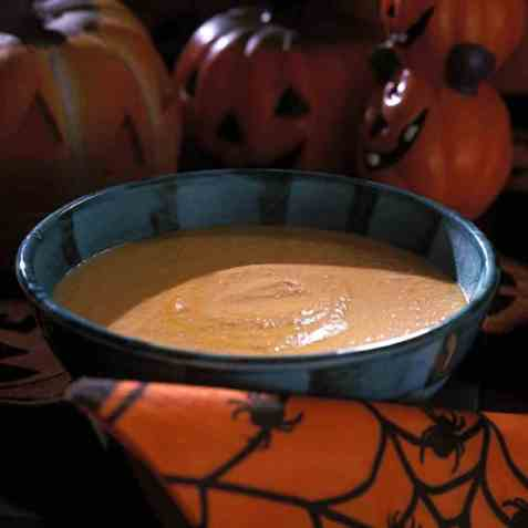 Pumpkin soup (Gresskarsuppe) oppskrift.