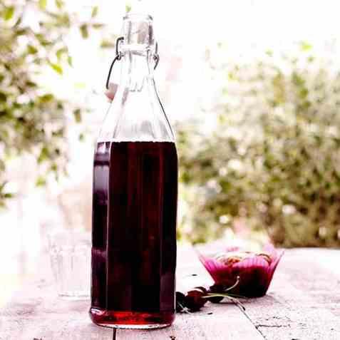Kirsebærsaft 2 oppskrift.