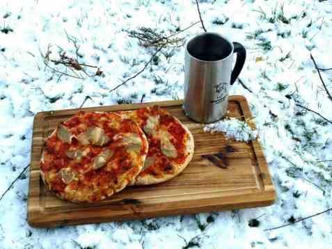 Lasagne pizza oppskrift.