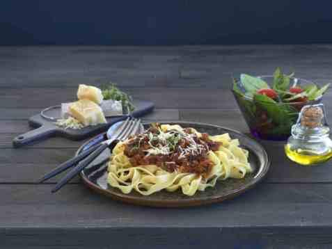 Spagettisaus med sellerirot oppskrift.