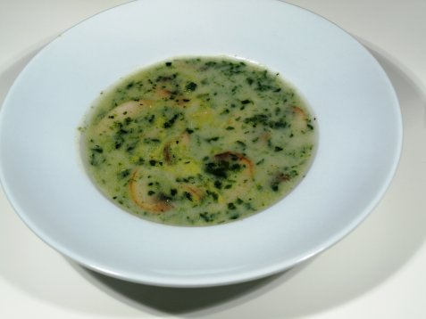 Champignon suppe oppskrift.