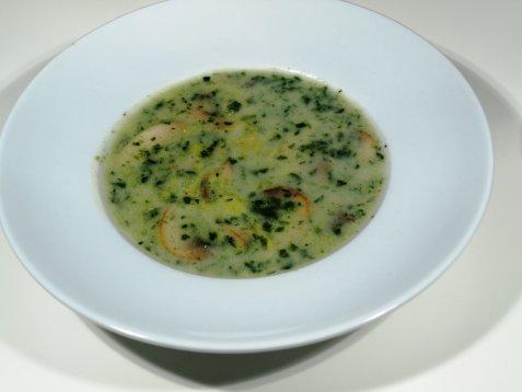 Champignon suppe oppskrift.