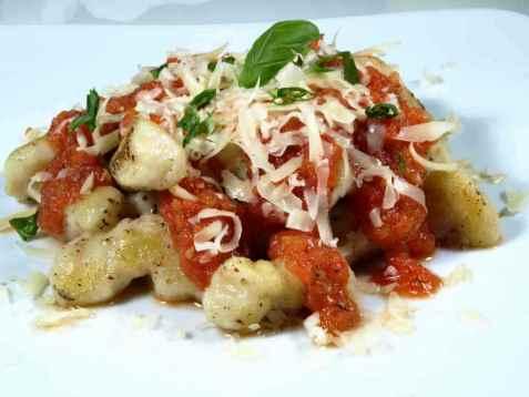 Potet-gnocchi  (Gnocchi di patate) oppskrift.